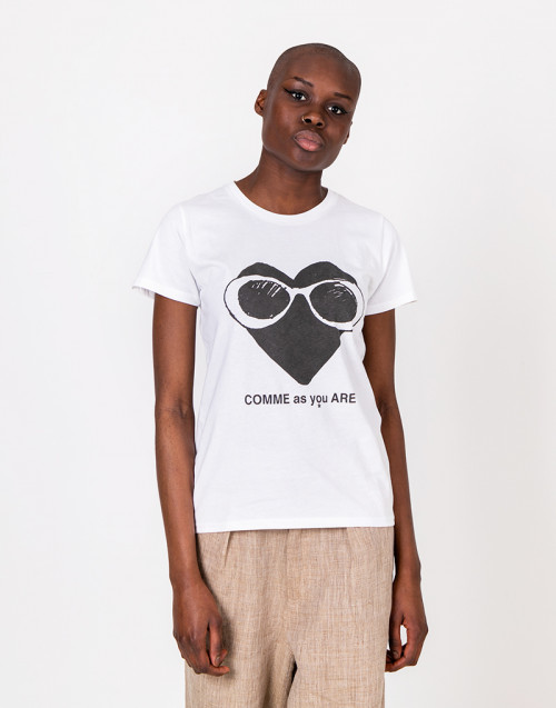 Comme as you are logo t-shirt