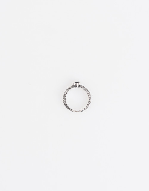 Small solitaire ring