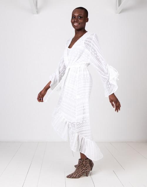 White gipsy dress