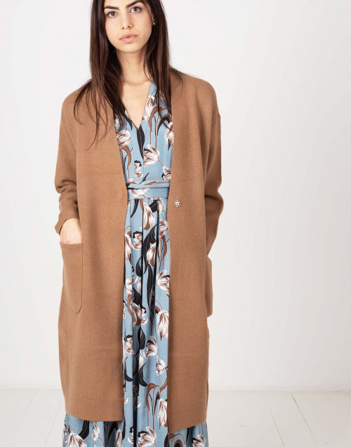 Wool coat camel colored