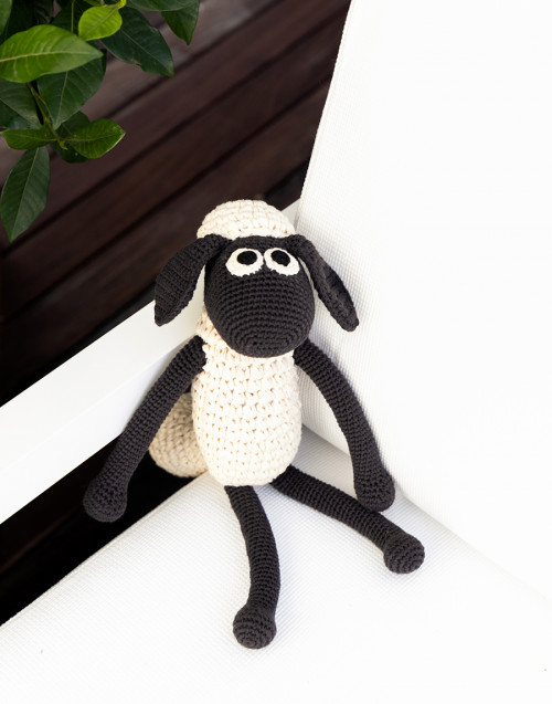 Shaun the sheep in organic cotton