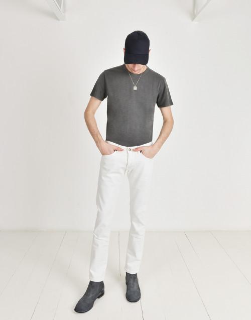 Jeans slim bianco