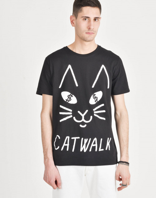 T-shirt in cotone Catwalk