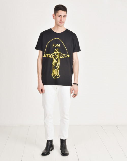 T-shirt in cotone Jesus Fun