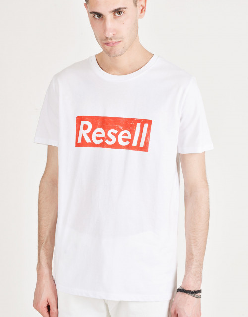 T-shirt Resell in cotone