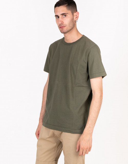 Military green basic t-shirt
