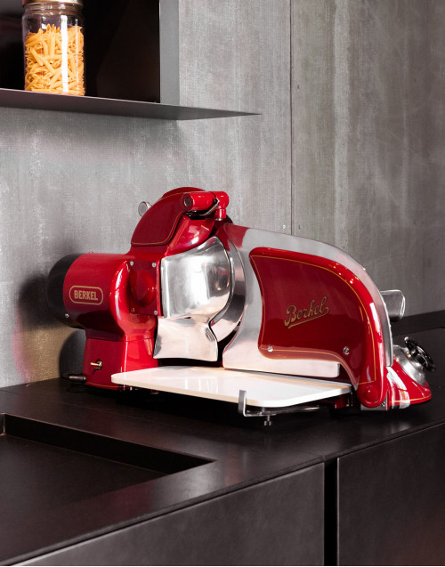Berkel slicer, tabletop model
