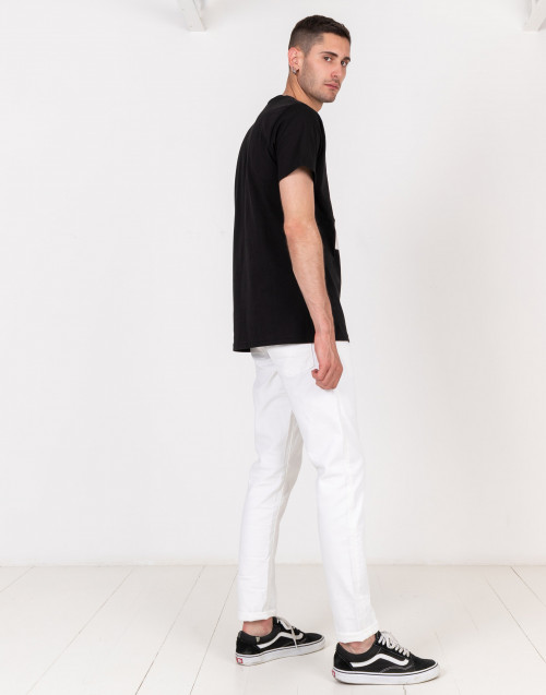Jeans Dylan bianco slim fit