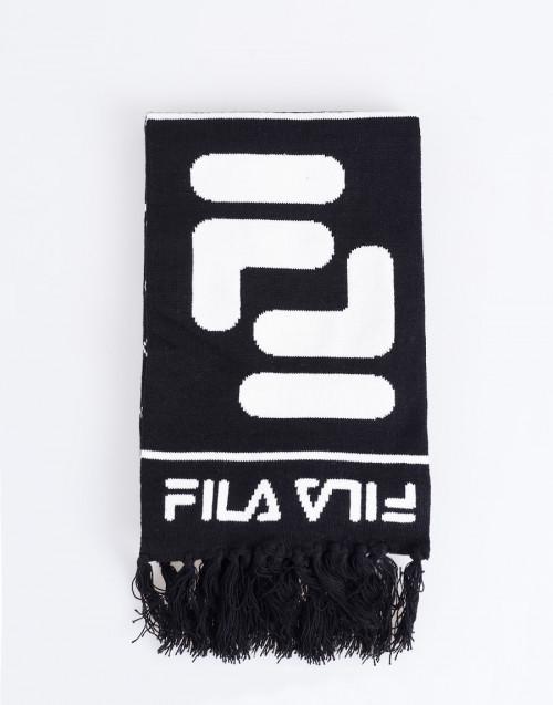 Logo black scarf