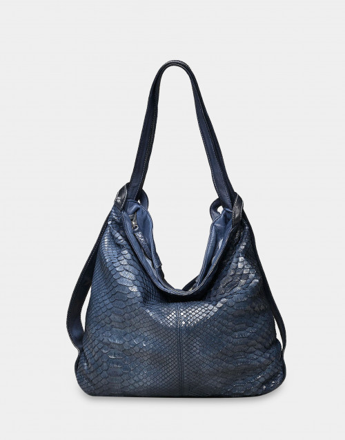 Backpag bag Calliope – Corfù Blue