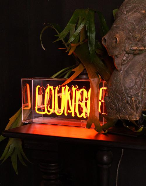 Lounge neon lamp