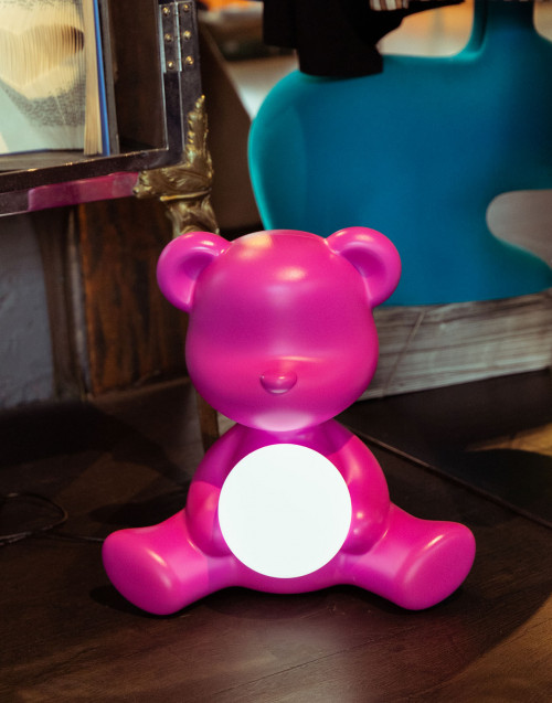 Teddy Girl rechargeable lamp matte finish