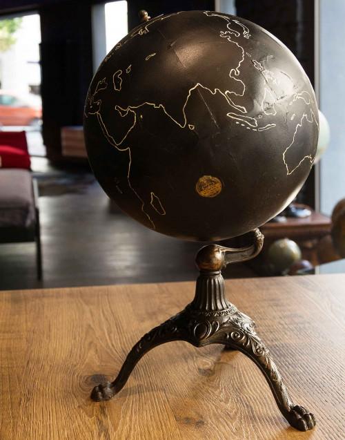 military vintage globe