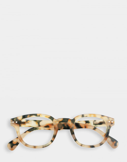Reading Glasses Thick Frame Mod. C Light Tortoise