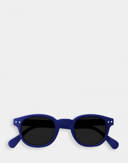 Reading sunglasses thick blue frame