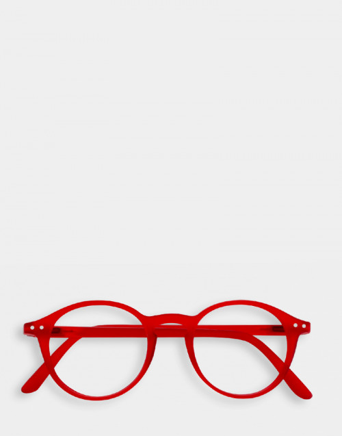 Reading Glasses Thin Frame Mod.D Red