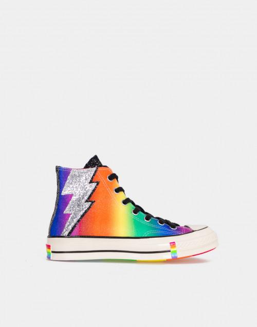 Chuck 70 Pride High Top Nere