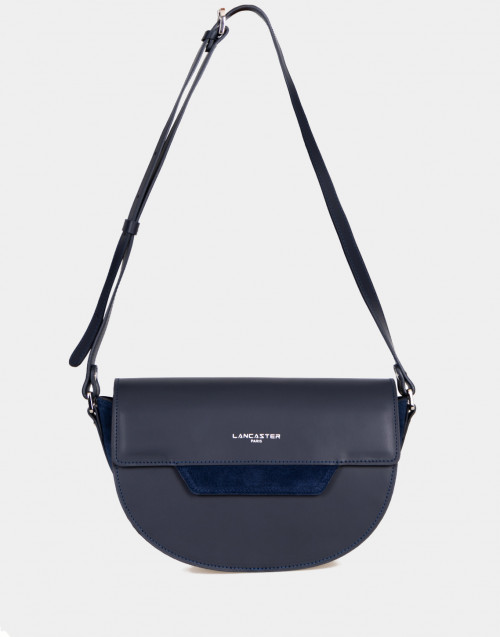Vendome Lune blue leather crossbody bag