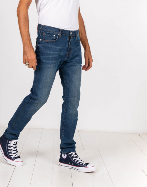 Jeans slim fit standard denim medio
