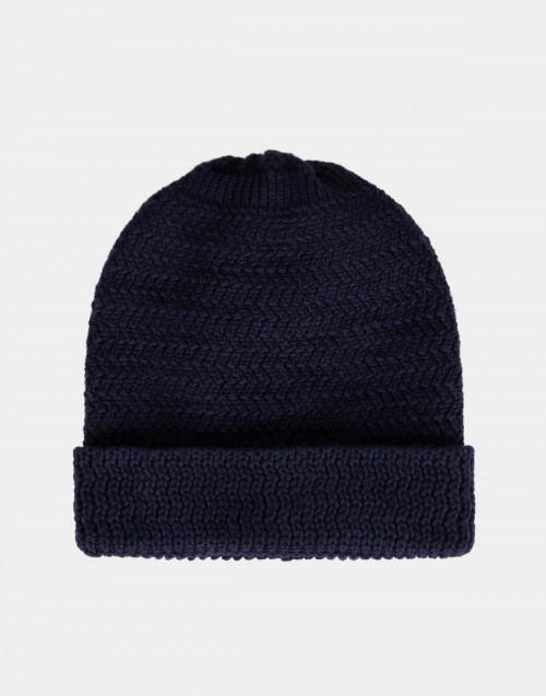 Knit wool beanie