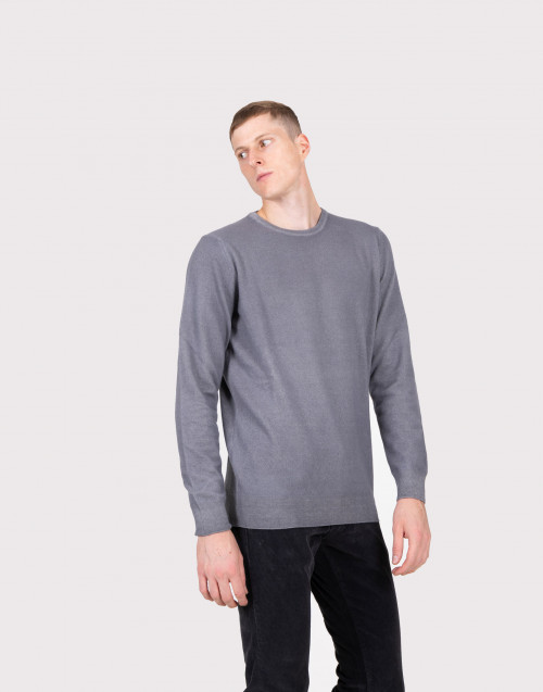 WOOL KNIT CREWNECK