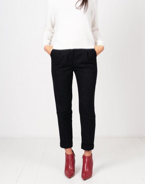 Pantaloni pence lana gessato ml0054-182