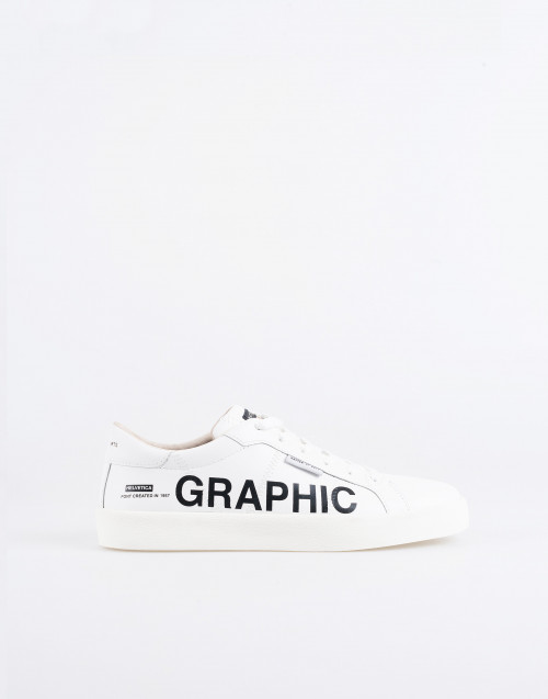 Sneakers graphic frieze M805