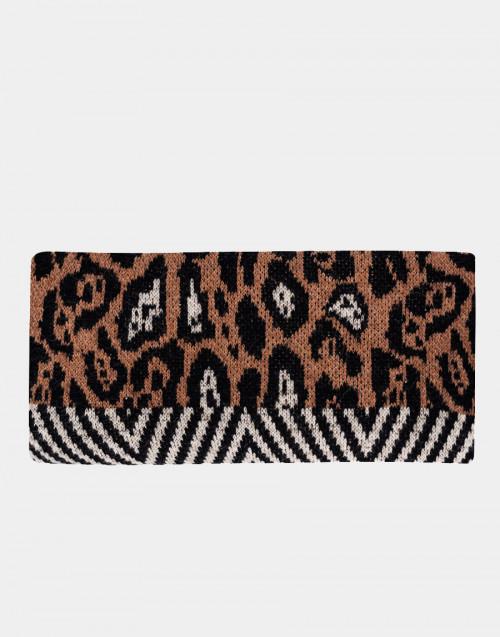 Animalier print scarf