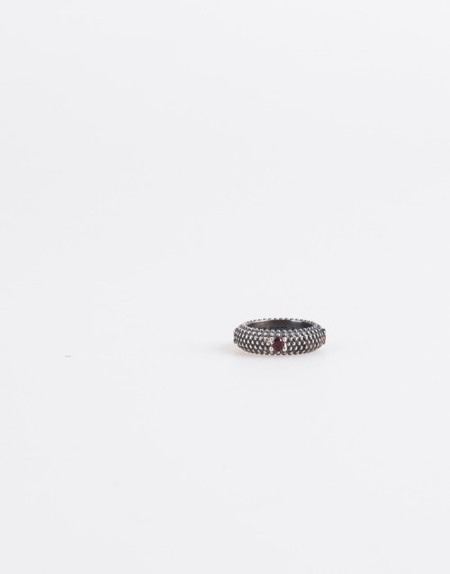 Sunrise Ring-Garnet