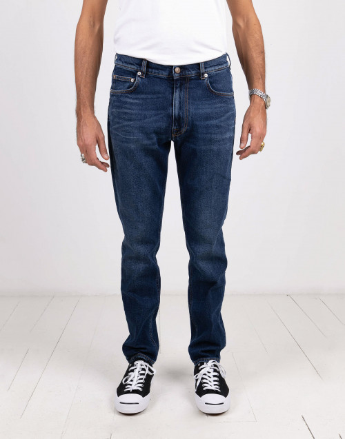 Medium blue denim jeans