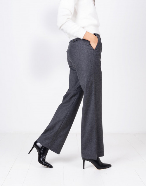 Grey wide leg pants