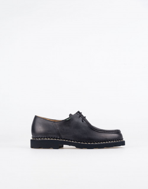 Derby shoes michael in black leather