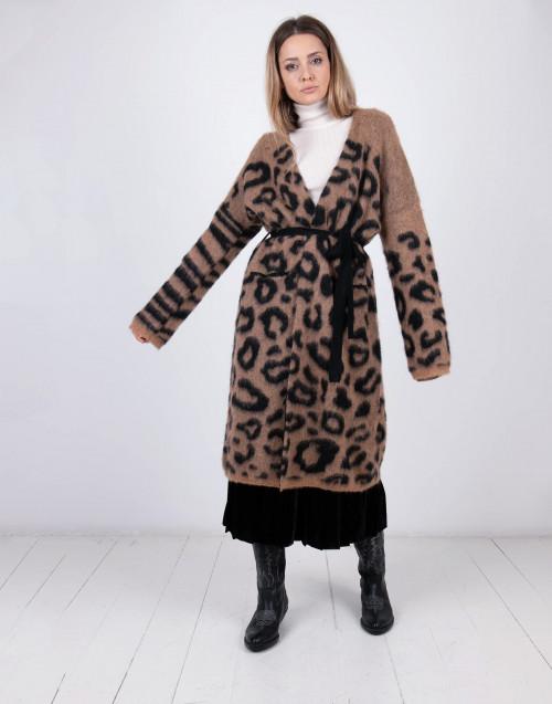 Oversize alpaca cardigan