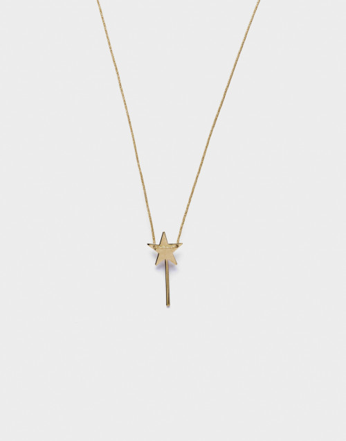 "Gold-tone ""Piccola magia"" necklace"