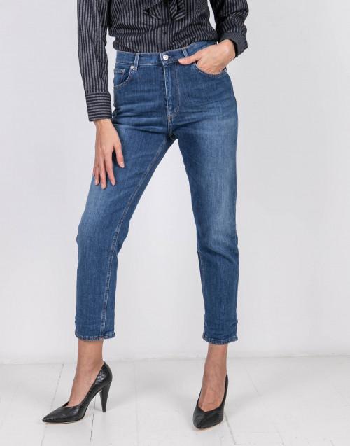 Pijay boyfriens jeans high waist