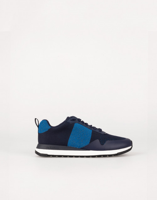 Lightweight blue sneakers