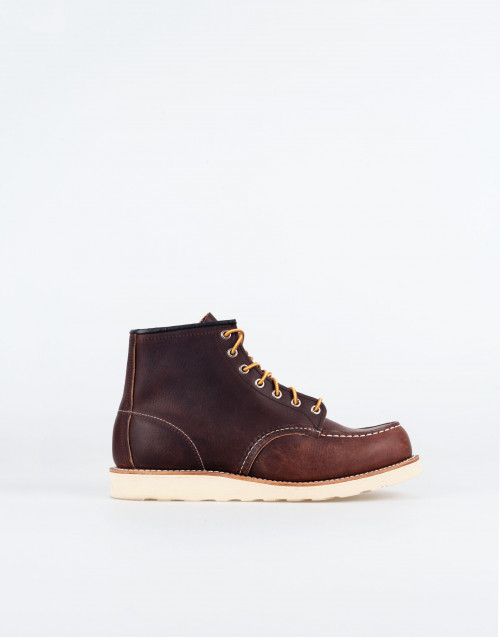 Classic Moc boot in brown leather