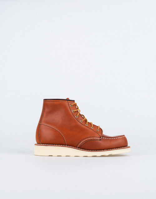 Classic Moc 3375 boot in brown leather
