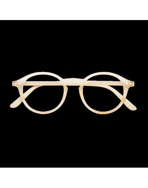 Occhiale beige da lettura mod.D